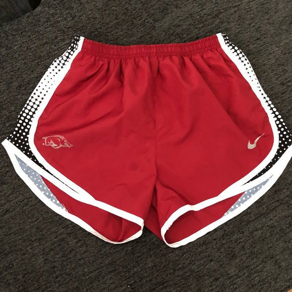 Women's Razorback Nike Shorts Medium Activewear